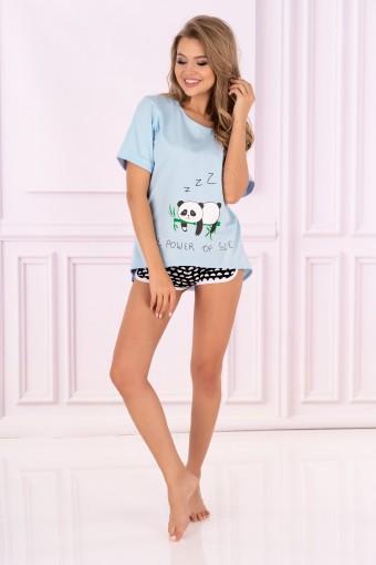 Bawełniana piżama z szortami