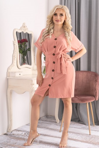 Sukienka szmizjerka mini
