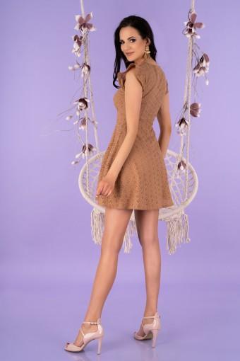 Sukienka ażurowa mini
