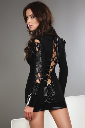 Tunika czarna elegancka