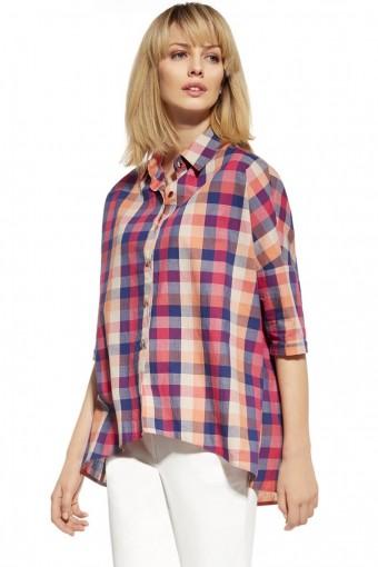 Koszula damska w kratkę