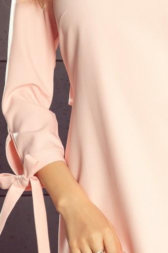 Elegancka sukienka pudrowy róż