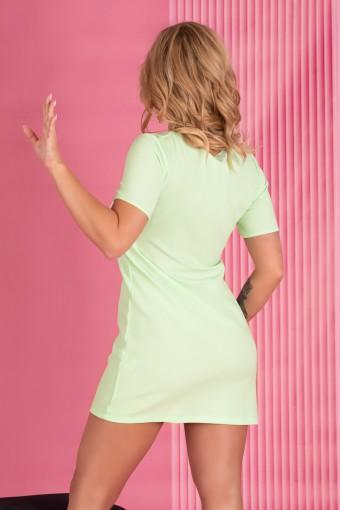Zielona sukienka mini