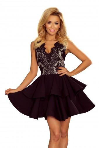 Sukienka rozkloszowana elegancka
