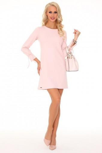 Różowa sukienka mini