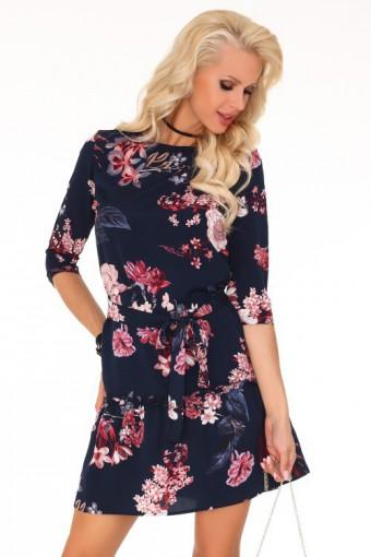 Luźna elegancka sukienka