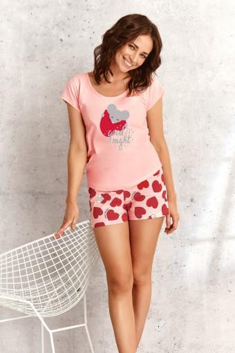 Bawełniana piżama krótkie spodenki