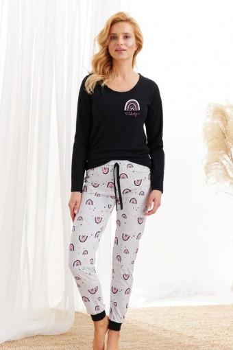 Bawełniana piżama długi rękaw
