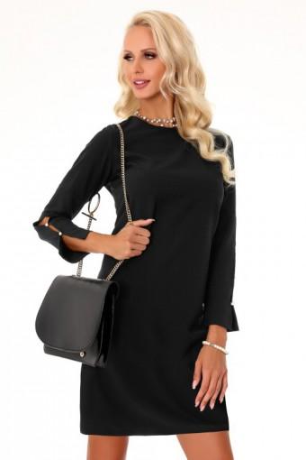 Sukienka trapezowa czarna