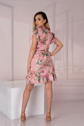 Mini sukienka w kwiaty
