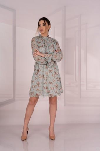 Sukienka szyfonowa mini