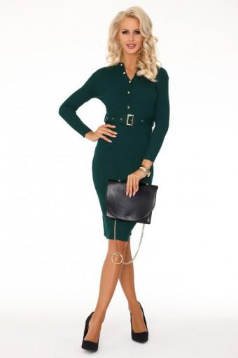 Sukienka ołówkowa zielona