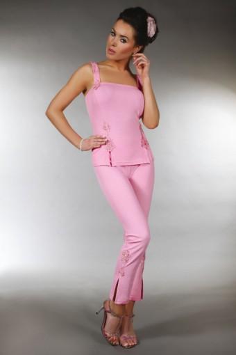 Elegancka piżama bawełniana