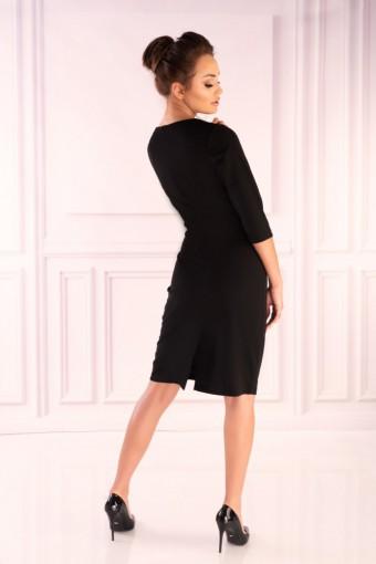 Sukienka czarna do kolan