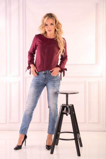 Fioletowa bluzka